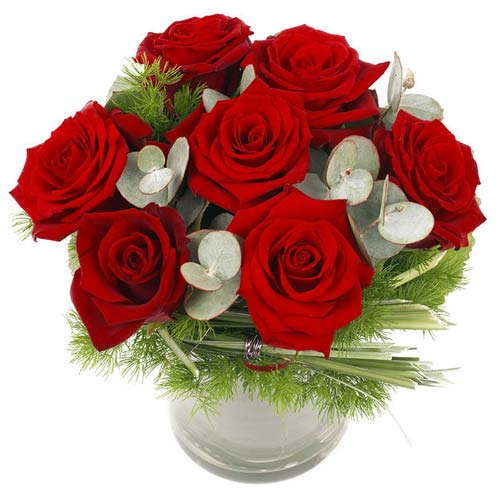 Gorgeous Arrangement of Red Roses