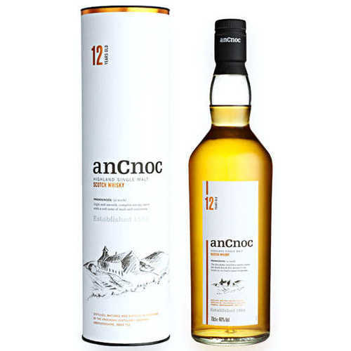 Riveting Ancnoc 12 years Single Malt Whisky