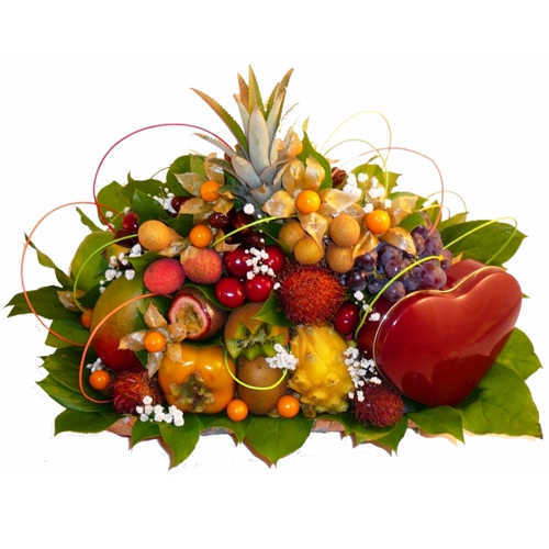 Aromatic Abundant Fruit Basket Collection